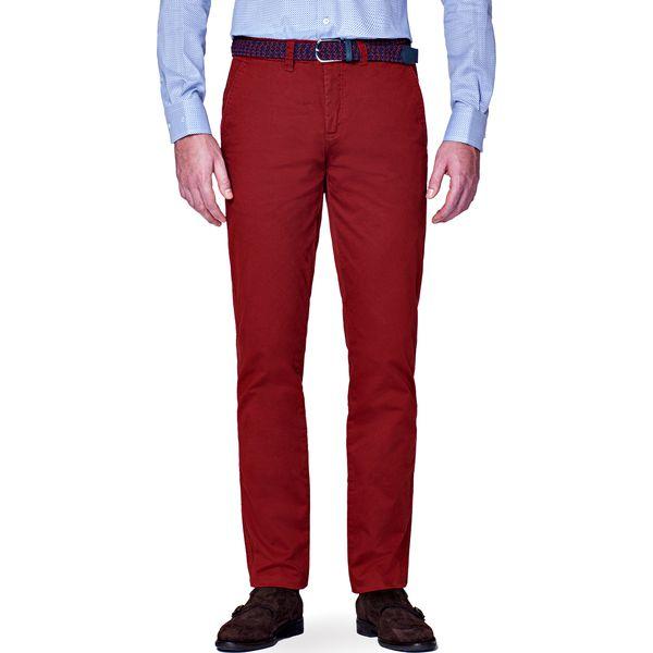 d5c1167a67909a Spodnie Chino Pedro Rudy - Eleganckie spodnie męskie marki LANCERTO ...