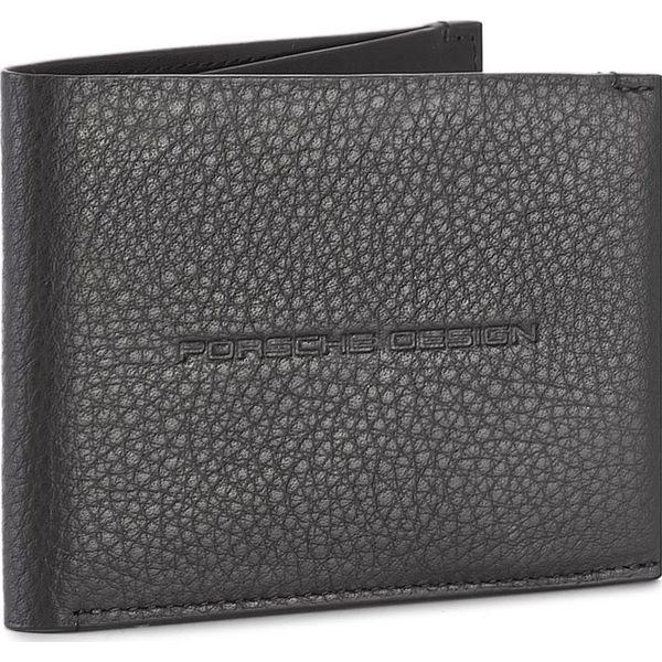 cc3b55041302e Duży Portfel Męski PORSCHE DESIGN - Voyager 2.0 Wallet H6 4090002594 Black  900 - Czarne portfele męskie marki Porsche Design, ze skóry.