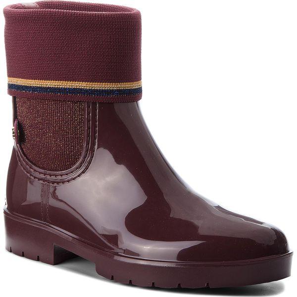 d3f51328cea93 Kalosze TOMMY HILFIGER - Knitted Sock Rain Bo FW0FW03565 Decadent ...
