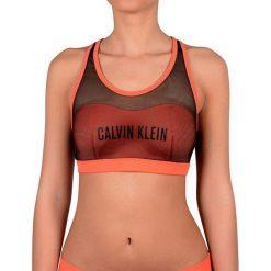 f22dbc81edd0a6 Calvin Klein Sport Ovni Strój Kąpielowy Biustonosz Bralette Kw0Kw00236 Hot  Coral (Rozmiar S).