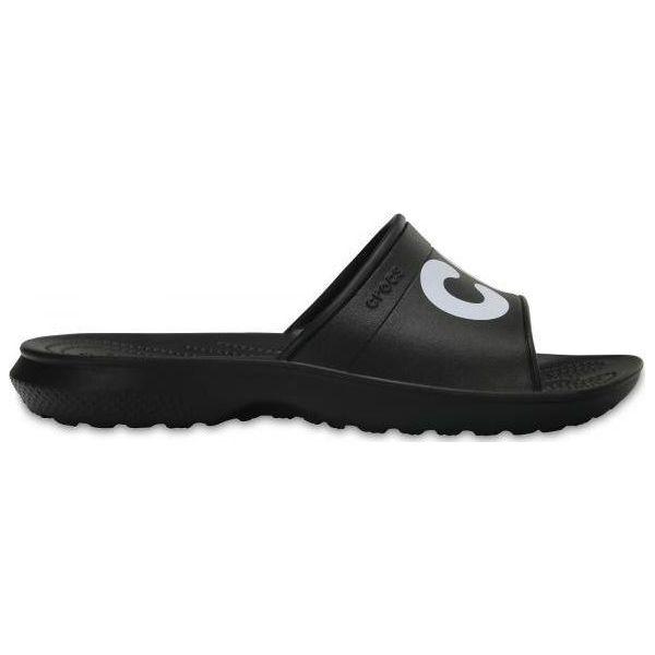 najnowsza kolekcja różne style sklep internetowy Crocs Klapki męskie Classic Graphic Slide 204465-066 czarne r. 45/47