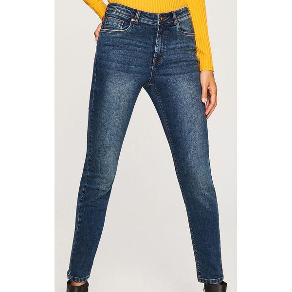 fbd70658692 Jeansy slim fit - Niebieski - Niebieskie jeansy damskie marki ...