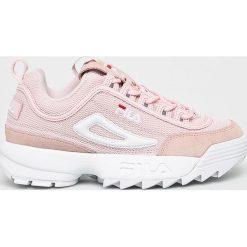 Różowe obuwie sportowe damskie Fila Kolekcja wiosna 2020
