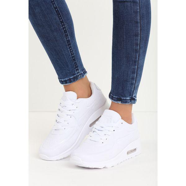 ca62ee55e58dc Białe Buty Sportowe Eren - Białe obuwie sportowe damskie marki Born2be