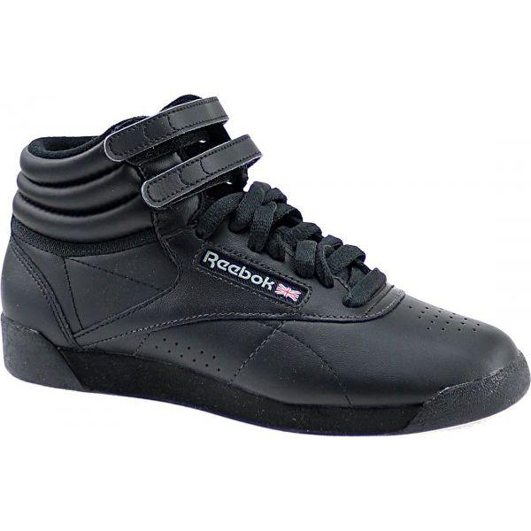 ddf5ed37 Reebok F/S Hi 2240 38 Czarne - Czarne obuwie sportowe damskie Reebok, ze  skóry. W wyprzedaży za 249.99 zł. - Obuwie sportowe damskie - Obuwie damskie  - Buty ...