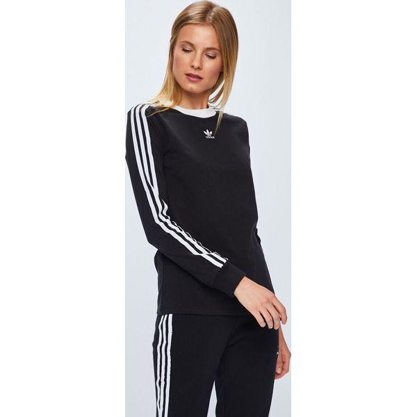 5309b3e044064 adidas Originals - Bluzka - Czarne bluzki damskie marki adidas ...