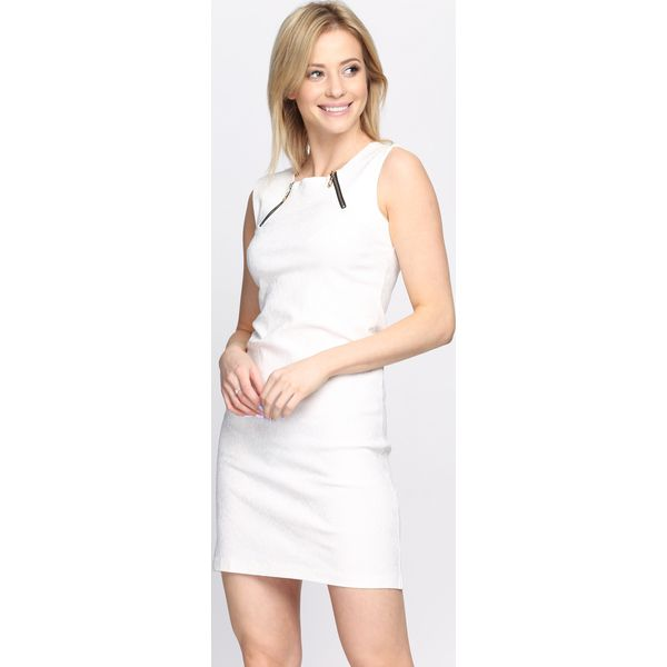 0eff84ce61 Biała Sukienka Of The River - Białe sukienki damskie marki Born2be ...