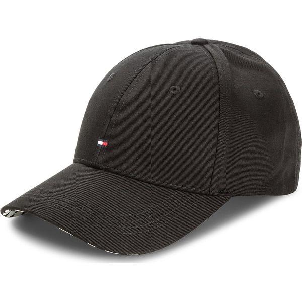 545739b14370b7 Czapka TOMMY HILFIGER - Bb Cap Print AW0AW05237 002 - Czarne czapki ...