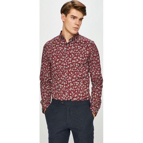 Medicine Koszula Basic Brązowe koszule męskie MEDICINE  WN5HV