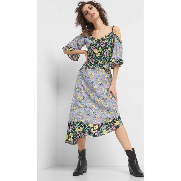 9f65e286b1 Asymetryczna sukienka w kwiaty - Sukienki damskie marki Orsay. Za ...