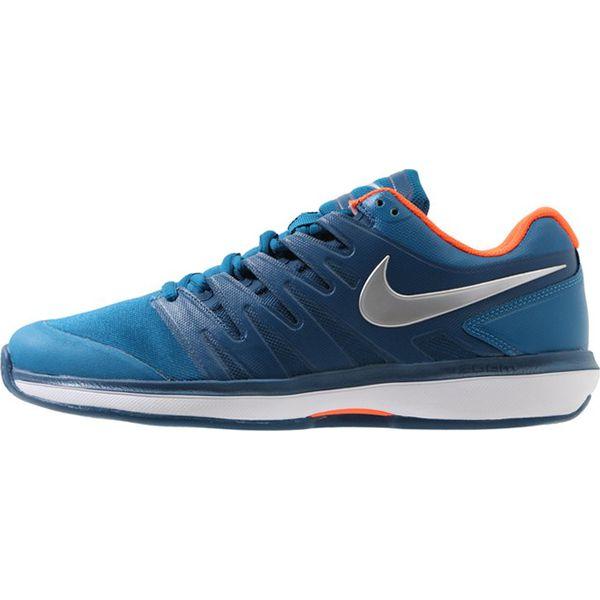 29e553e9694da Nike Performance AIR ZOOM PRESTIGE HC Obuwie multicourt green  abyss/metallic silver - Buty sportowe męskie marki Nike Performance. Za  419.00 zł.