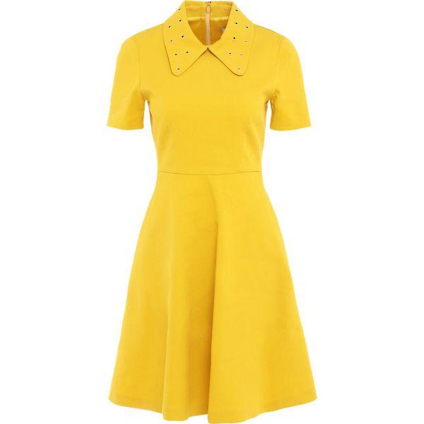 5c94316056 MAX Co. CATERINA Sukienka letnia yellow - Sukienki damskie marki ...