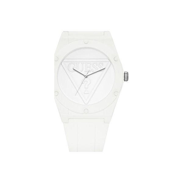Guess Jeans Zegarek W0884L2 Zegarki damskie białe w