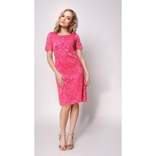 b2a859a2e4 Koktajlowa sukienka z koronki klaudia - Sukienki damskie marki ...