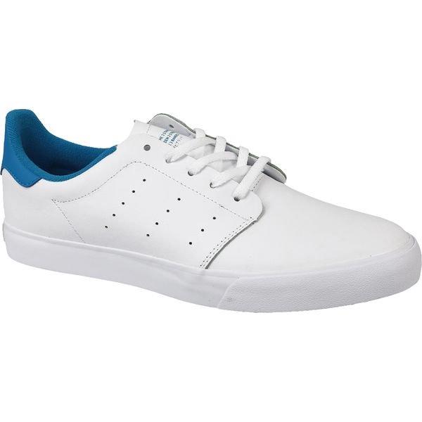Adidas Seeley Court BB8587 buty sportowe, trampki męskie białe, niebieskie 44