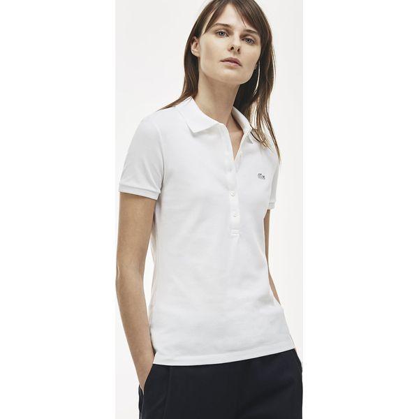 99c994ab8 Lacoste PF7845 Koszulka polo white - Białe bluzki damskie marki ...