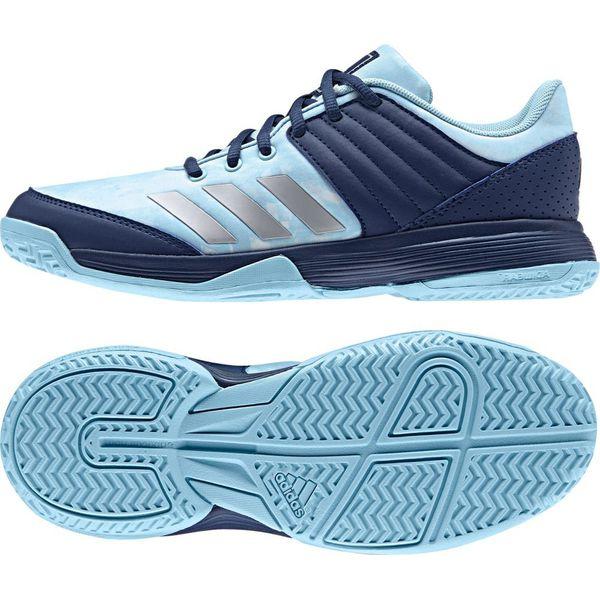 style mody bliżej na nowe obrazy Adidas Buty damskie Ligra 5 niebieskie r. 40 (BY2580)