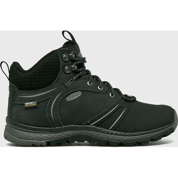 520b4cc7d381a Keen - Buty Terradora Wintershell - Brązowe obuwie trekkingowe damskie  marki Keen, z materiału, na sznurówki. Za 549.90 zł.