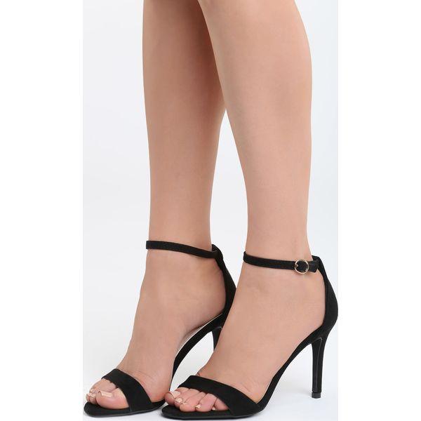 Czarne Sandały After Dark