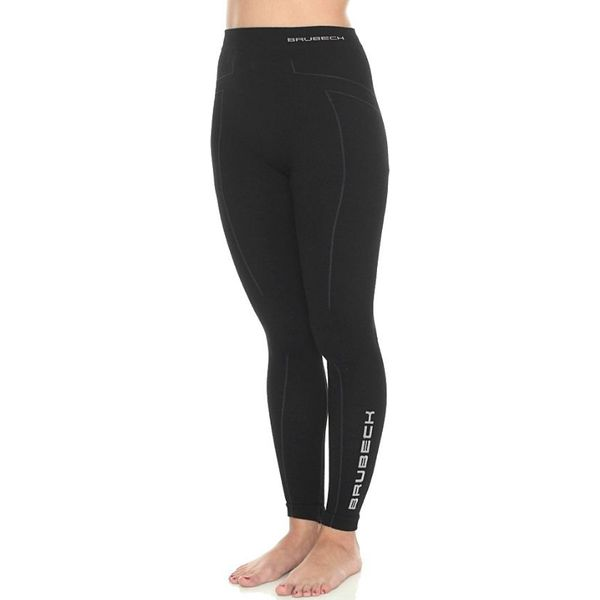 c54d2b438a40e4 Brubeck Spodnie damskie Extreme Wool czarne r. M (LE11130) - Czarne ...