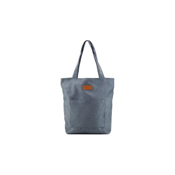 6dce2ef12541e Duża torba typu shopper Mili Chic MC4 - grey - Szare shopperki ...