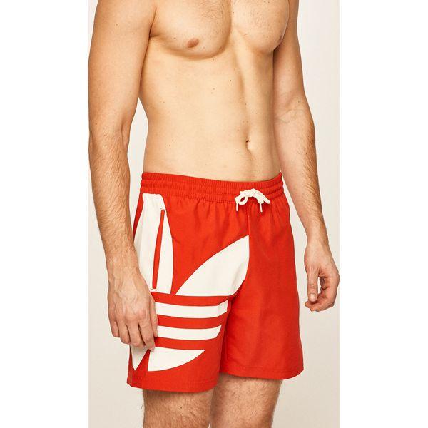 szorty męskie adidas orginals czerwone