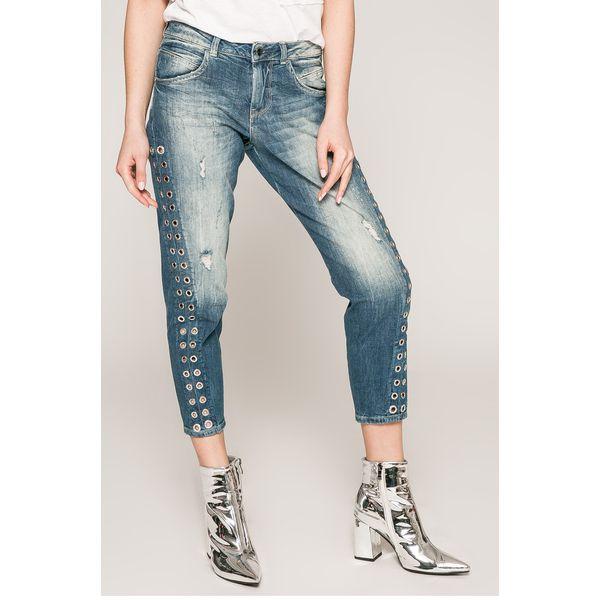 b5cc4c5a26716 Guess Jeans - Jeansy Vanille - Niebieskie jeansy damskie marki Guess Jeans