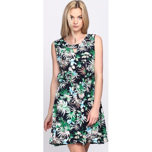 9d9247a962 Granatowa Sukienka Make Over - Niebieskie sukienki damskie marki ...