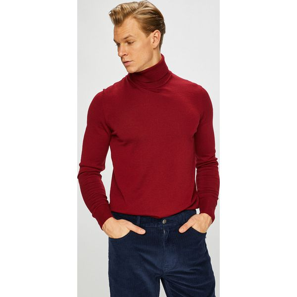84167db1b84e2 Tommy Hilfiger Tailored - Sweter - Szare swetry męskie marki Tommy Hilfiger  Tailored