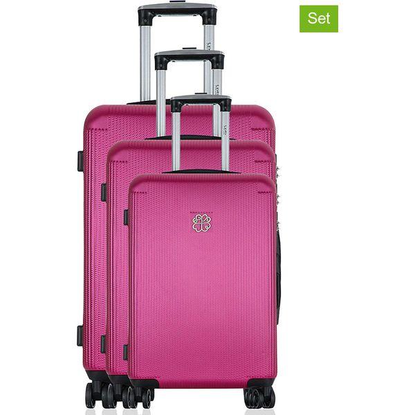 63cba908e9431 Różowe walizki damskie ze sklepu Limango.pl - Kolekcja wiosna 2019 - Sklep  Radio ZET