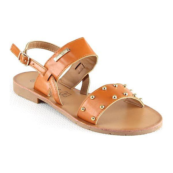 6faa1564282 Sandały w kolorze karmelowym - Brązowe sandały damskie marki ...