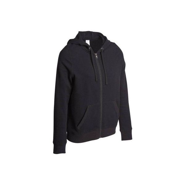 9bc8817ce16989 Bluza z kapturem fitness - Czarne bluzy damskie marki DOMYOS, xl ...