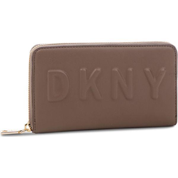 3364bd5a977a0 Duży Portfel Damski DKNY - Tilly Lg Zip Around R74QV103 Desert DES ...
