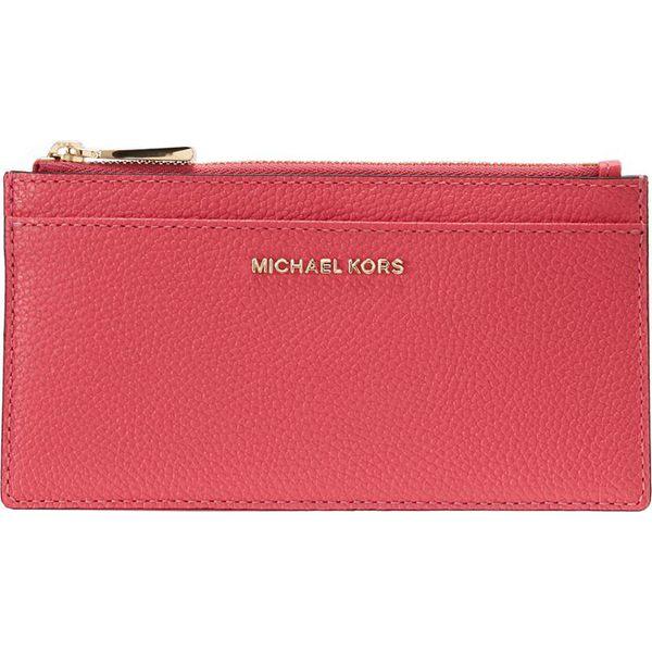 04cdec7b4f823 MICHAEL Michael Kors MONEY PIECES SLIM CARD CASE Portfel rose pink ...
