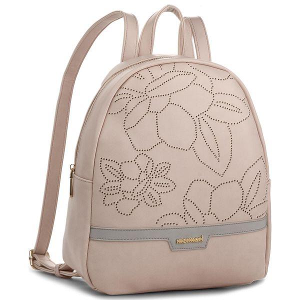 5507cf48df05e Plecak MONNARI - BAG1180-004 Pink - Czerwone plecaki damskie marki ...