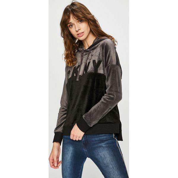 9ef7592674067 Dkny - Bluza - Czarne bluzy damskie marki DKNY