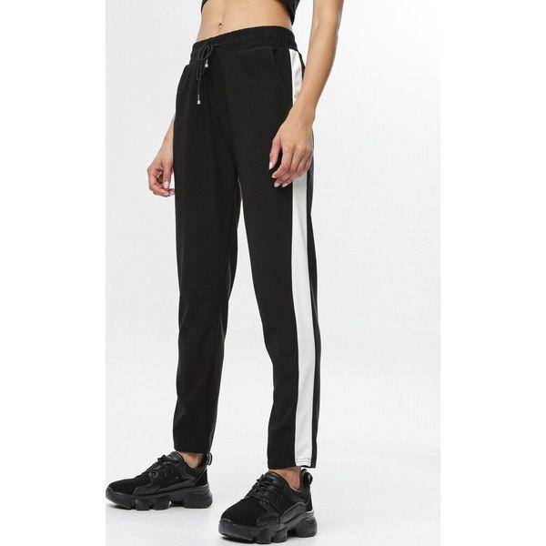 Czarne Spodnie Aluvianna
