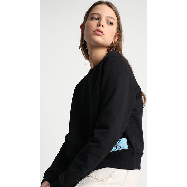 507e9f6fbebb8 Calvin Klein Jeans MONOGRAM LOGO BADGE Bluza ck black - Bluzy ...