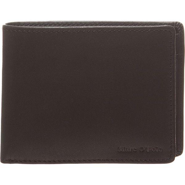 d91b785448933 Skórzany portfel w kolorze czarnym - 10 x 8 x 2