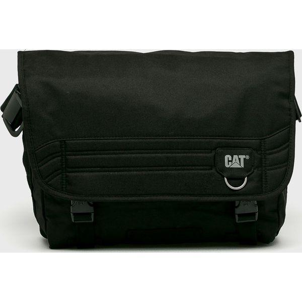 230defe4a7d7a Caterpillar - Torba Aron - Czarne torby na ramię męskie CATERPILLAR ...