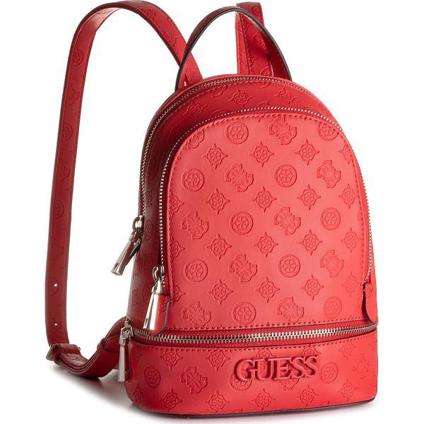 a5eaf02baf3f5 Plecak GUESS - HWSP74 11320 POP - Czerwone plecaki damskie marki Guess, z  aplikacjami, ze skóry ekologicznej. Za 589.00 zł. - Plecaki damskie - Torby  i ...