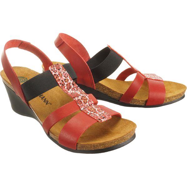 DR. BRINKMANN 710952 4 rot , sandały profilaktyczne damskie