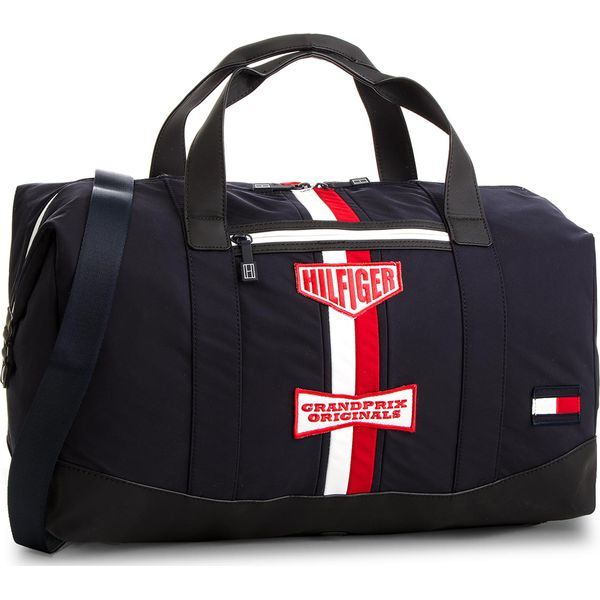 01955c541bb08 Torba TOMMY HILFIGER - Speed Duffle AM0AM03182 413 - Niebieskie ...
