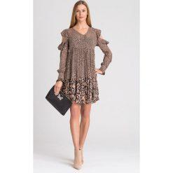 768bbc42ee8a68 SUKIENKA TWINSET. Czarne sukienki damskie Twinset, na co dzień, bez wzorów,  bez
