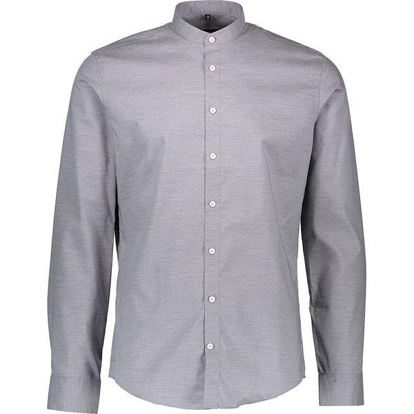 2efb053f14d1db Koszula - Slim fit - w kolorze szarym - Szare koszule męskie Seidensticker,  m, z bawełny, z klasycznym kołnierzykiem. W wyprzedaży za 104.95 zł.