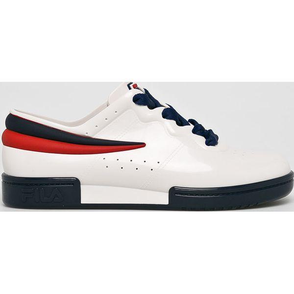 329b273b Melissa - Buty x Fila - Białe obuwie sportowe damskie marki Melissa ...