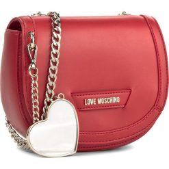 12ce841671d0c Torebka LOVE MOSCHINO - JC4074PP15LI0500 Rossso. Czerwone torebki wizytowe  damskie marki Love Moschino. W
