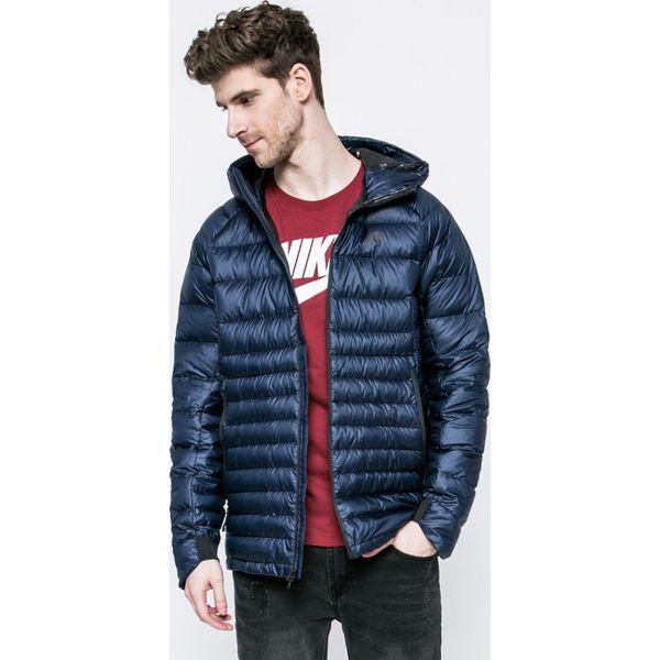 4d6605f29319c Nike Sportswear - Kurtka puchowa - Szare kurtki męskie marki Nike  Sportswear, m, z bawełny, z kapturem. W wyprzedaży za 499.90 zł.