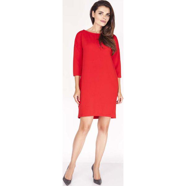 8c624c4d4b Czerwona Sukienka z Dekoltem na Plecach - Czerwone sukienki damskie ...