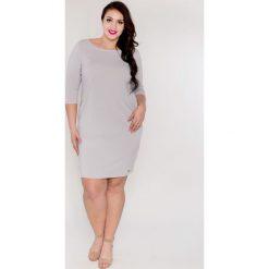 d55ffd6840 Elegancka ołówkowa sukienka Gosia OVERSIZE PLUS SIZE wiosna lato 2018.  Sukienki damskie marki Moda Size